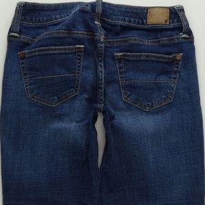 American Eagle Boy Fit Crop Jeans Women's 00 B574